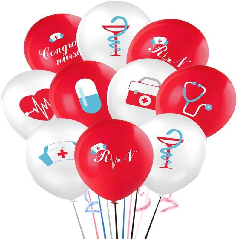 Набор воздушных шаров для медсестры, выпускного баннера, декоративные принадлежности для вечерние НКИ медсестры, украшение для выпускного,...