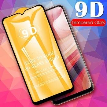 Перейти на Алиэкспресс и купить 9D полное покрытие закаленное стекло для Oppo AX5 AX5s AX7 A1K A11x A12 A12e A52 A72 A8 A9 A9x A92s Защитная пленка для экрана