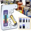 Цифровой Батарея тестер ЖК-дисплей Дисплей C D N AA AAA 9V 1,5 V кнопочный элемент Батарея Ёмкость контрольный детектор постоянной ёмкости, универс...