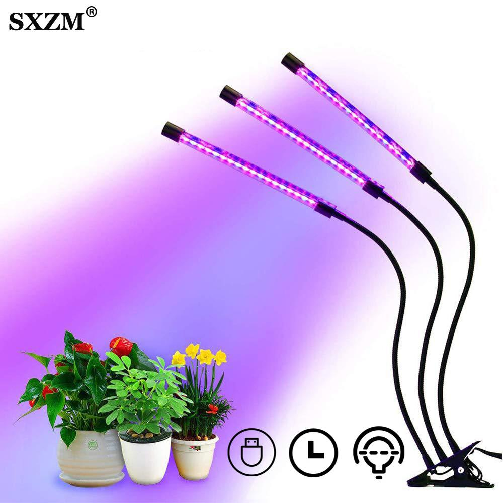 USB LED Grow Light 9W 15W 18W 27W Full Spectrum Phytolamps DC5V Desktop Clip Phyto Waterproof Lamps For Plants Flowers Grow Box