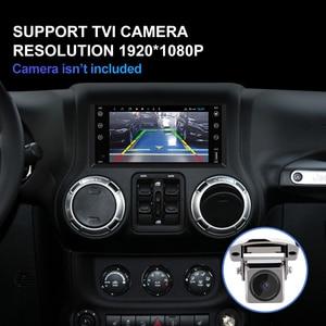 Image 3 - Isudar H53 4G Android 2 Din otomobil radyosu için Jeep/wrangler/patriot/pusula/yolculuk araba multimedya GPS 8 çekirdekli RAM 4GB ROM 64GB DVR
