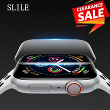 2 Pcs Set For Apple Watch Screen Protector IWatch 4 3 ROCK Hydrogel Full Protective Film 38 40mm 42mm 44mm