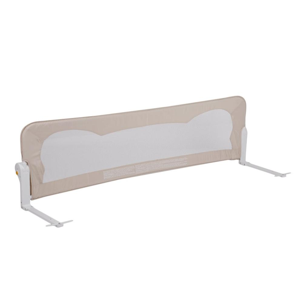 Baby Toddler Folding Guardrail Guard Bar Safety Sleeping Infant Child Bed Fence 120*42cm Prevent Baby Fall Off