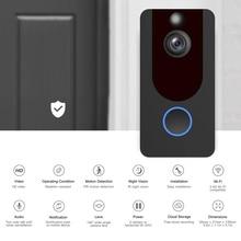 EKEN V7 Wireless WIFI Smart Video Doorbell 1080P Night Vision Video PIR Motion Intercom Security Camera Support  APP Control