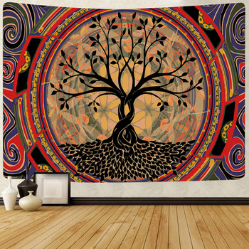 Simsant Psychedelic Shrooms Tapestry Colorful Abstract Trippy Tapestry Wall Hanging Tapestries for Home Dorm Fantasy Decor 40