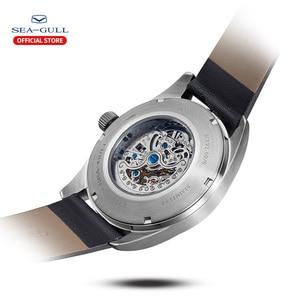Image 3 - Seagull zegarek męski biznes Hollow Luminous wodoodporny automatyczny zegarek mechaniczny zegarek męski mechanik 819.92.6076H