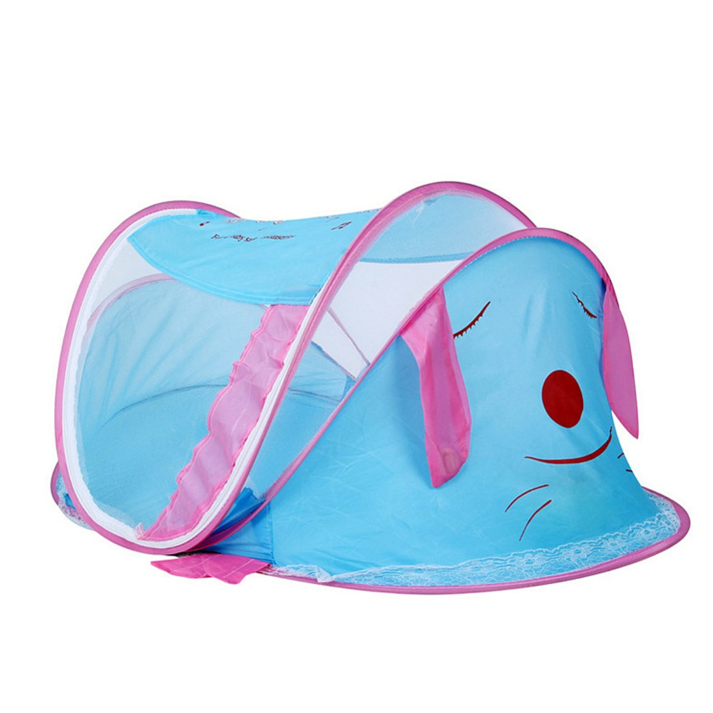 Castle Tents Portable Children Outdoor Garden Folding Play Tent  Cute Animal