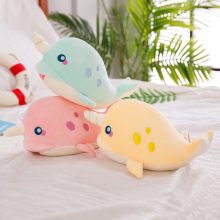 New creative narwhal doll plush toy soft animal marine marine toy children toy Christmas gift child doll