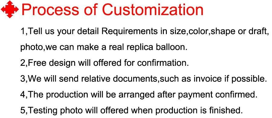9 Process of customization