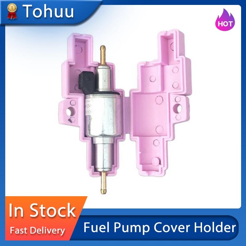 Fuel Pump Cover Housing Holder for Webas to Eberspacher Metering Pump Diesel Parking Heater Truck Fuel Pump Lid Holder Housing For Hand Warmer Truck