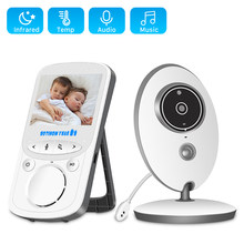 2.4 Inch LCD Video Baby Monitor 2.4G Wireless 2 Way Audio Bebe Cam Night Vision Surveillance Security Camera Babysitter VB605(China)