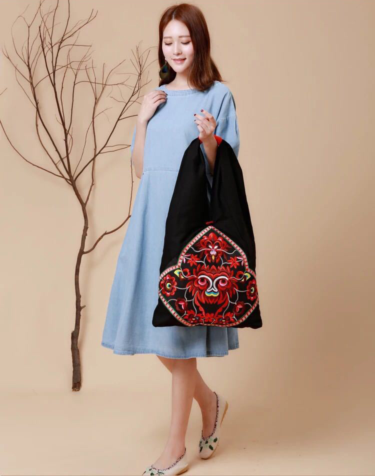 bohemian bag bags women shoulder bag women's handbags (5)
