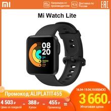 Xiaomi смарт часы Mi Watch Lite Bluetooth smart watch GPS 5ATM водонепроницаемые Смарт-часы фитнес-монитор сердечного ритма