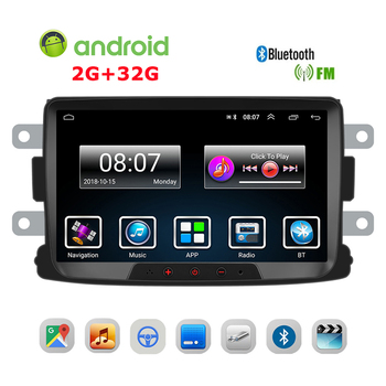 8 Inches Car Multimedia Player GPS Navigation DVR WIFI Mirror Link Function Supported for Dacia Duster/Sandero/Logan/Dokker image