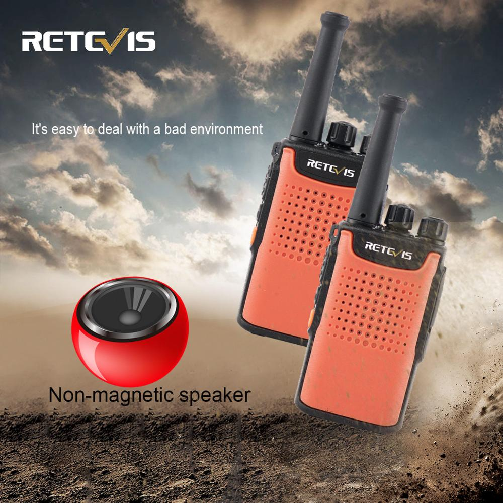 2pcs Retevis RT667/RT67 Walkie Talkie PMR Radio PMR 446 VOX Non-magnetic Speaker 3000mAh Two Way Radio Comunicador Walkie-Talkie
