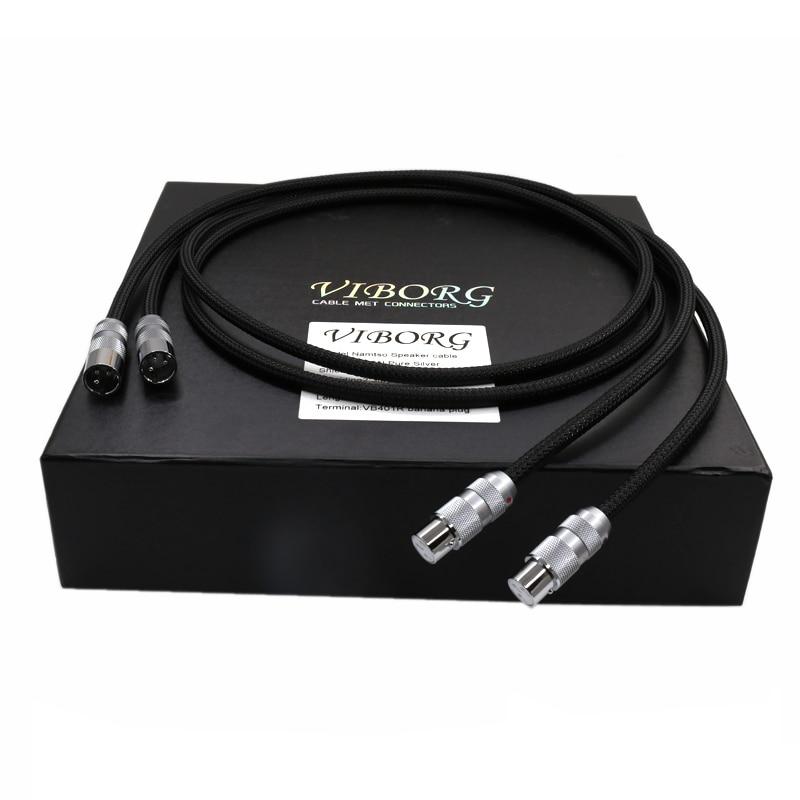 Viborg OFC câble d'interconnexion équilibré XLR en cuivre pur Multiple HIFI XLR mâle à femelle câble d'extension XLR