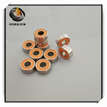 2Pcs SMR104 2OS Cb Abec 7 4X10X4Mm Vissersvaartuig Lager SMR104 2RS MR104 Roestvrij staal Hybride Keramische Lagers 4x10x4