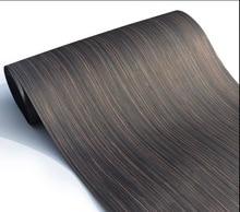 L:2.5Meters Width:60cm Technological ebony veneer super wide non-splicing veneer