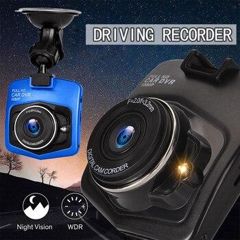 HD 1080P Car Dash Cam Driving Video Recorder Night Dash Camera Recorder DVR Mini Vision Video Recorder G-sensor WDR Dash Cam