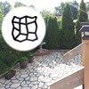Garden Pavement Mold Garden Walk Pavement Concrete Mould DIY Manually Paving Cement Brick Stone Road Concrete Molds Path Mate flash sale