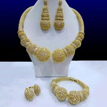 Jewelry-Sets Cubic-Zircon GODKI Nigerian-Dubai Wedding-Bridal Women Luxury Famous-Brand