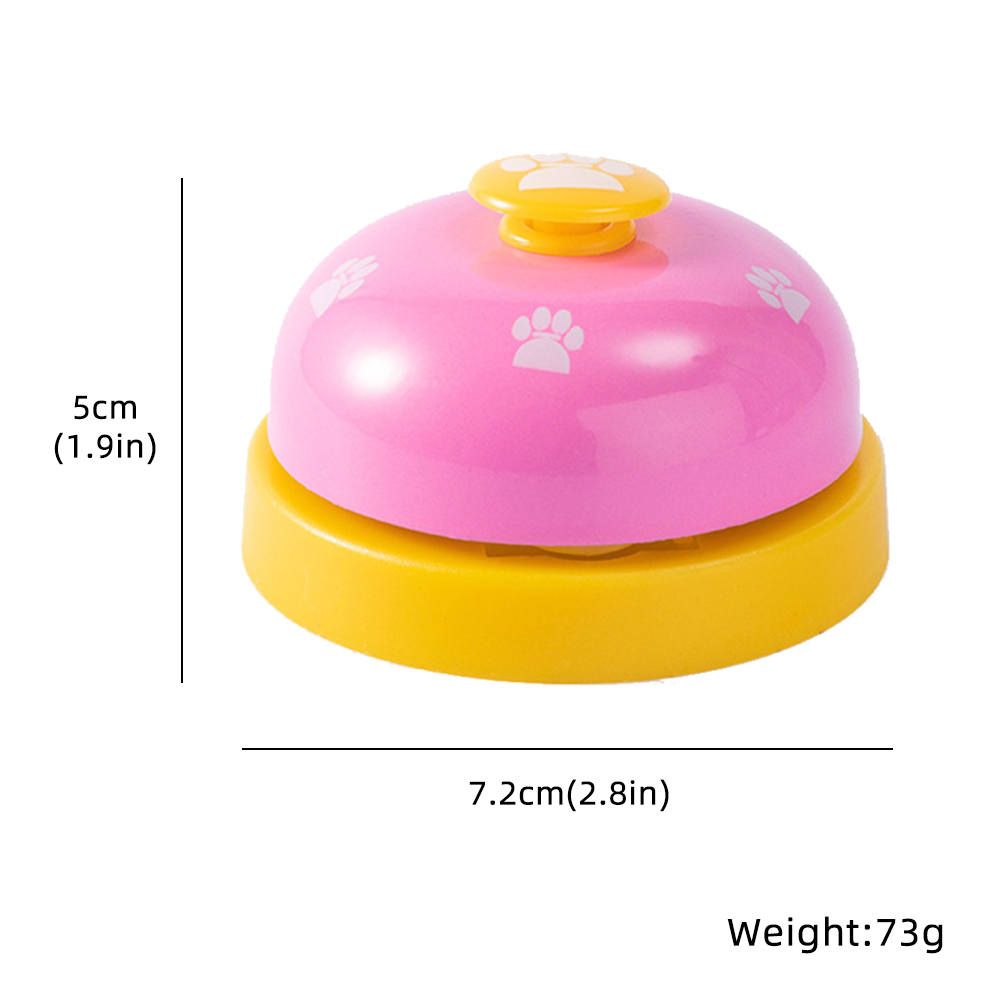 Pet Training Supply Dog Call Bell Dog Training Equipment Interactive Bell Eating Food Feeder For Dog Training Communicate Device-2