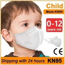 Mouth Caps Children FFP2 Masks Child Protective Mask kn95 mascarillas Infantil Certificadas Mouth Face Mask kn95mask kids Masque