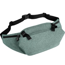 Cai Waist Bag Female Male Fashion Waterproof Zipper Chest Handbag Unisex Pack Ladies Men Women Belly Bags Purse