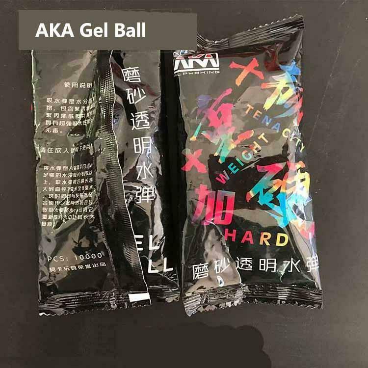 ZHENDUO 3 Bags 7-8mm Gel Balls Aka Frosted Harder Hardened for Gel Blaster Toy Gun AU stock 3