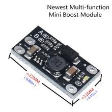 1 шт. новейший многофункциональный мини-модуль Boost, повышающая плата 5 В/8 в/9 В/12 В 1,5a светодиодный индикатор, Diy Электронный модуль напряжения