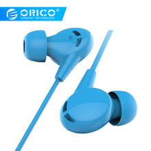 ORICO Wired Earphone In-ear Bass Stereo In-ear Sport Earphone With Microphone Computer Earbuds for iPhone 6 Xiaomi Samsung MP3