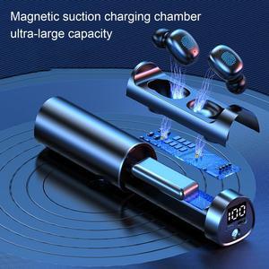 BL N21 наушники-вкладыши TWS Bluetooth светодиодный Мощность Дисплей Водонепроницаемый Беспроводной наушники сенсорный Управление стерео Hi-Fi наушники Шум снижение