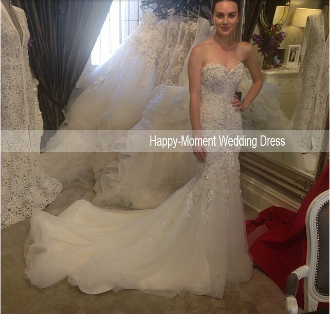 Custom-made Romantic Vestido De Noiva 2018 Casamento New Fashionable Sexy Bridal Gown Long Mermaid Mother Of The Bride Dresses