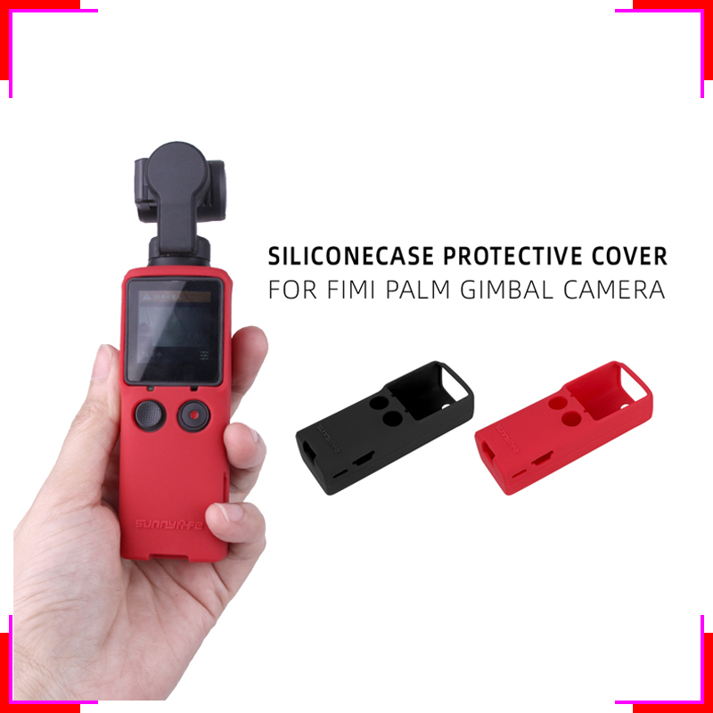 Silicone Protective Case Cover Lens Housing Skin Shell FIMI PALM accessory gimbal camera Accessories for FIMI PALM Gimbal Camera