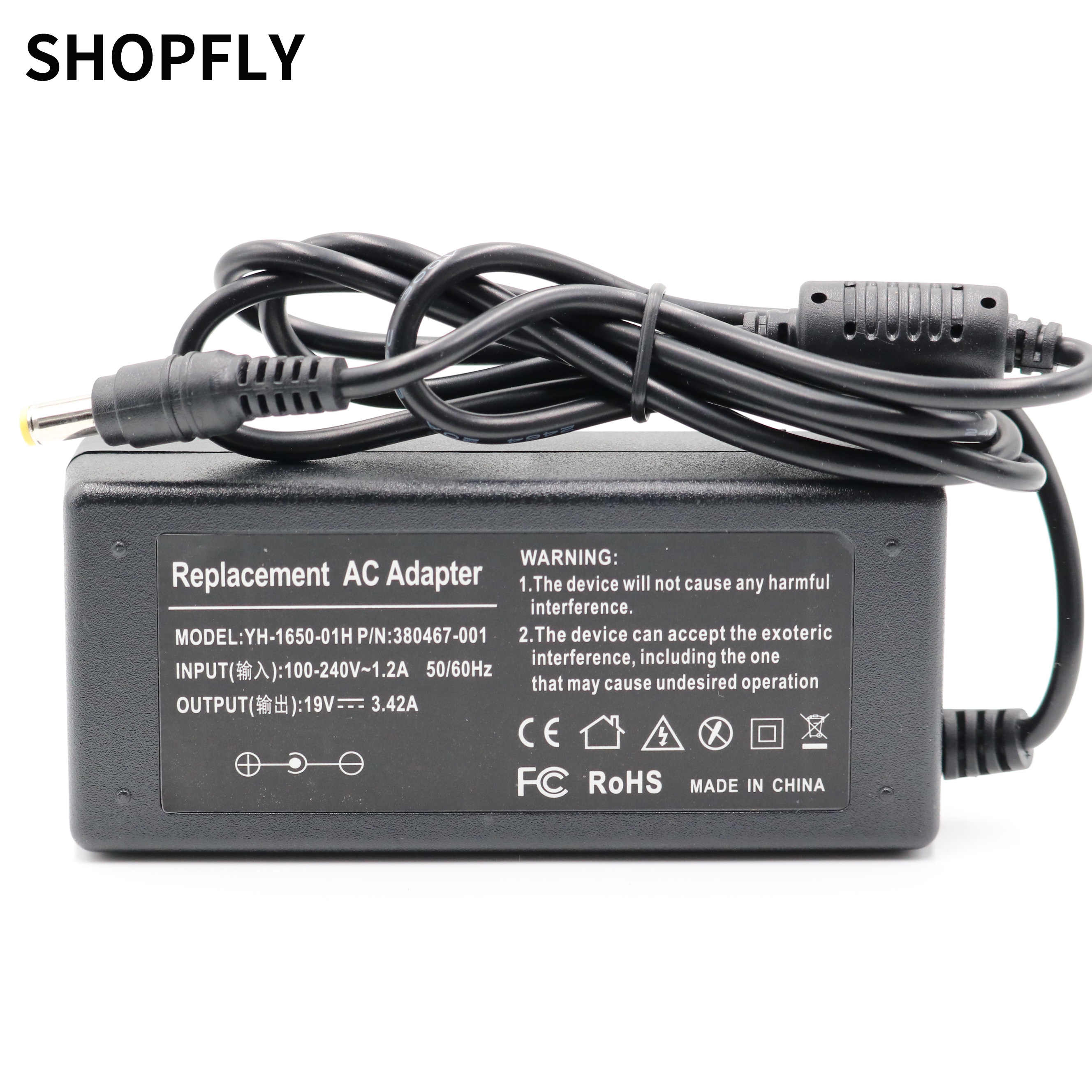 19V 3.42A 65W AC Adapter Battery Charger voor Packard Bell EasyNote TV11HC TV44HC TE11BZ TE11HC
