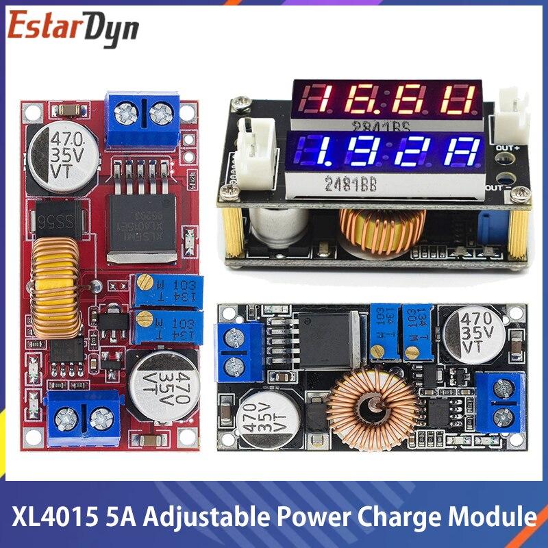5a dc para dc cc cv bateria de lítio step down placa de carregamento led conversor de energia carregador de lítio step down módulo xl4015