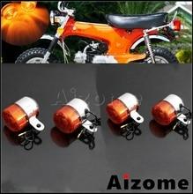 Lâmpada de sinal volta da motocicleta âmbar para honda pouco p25 p50 z50 z50a k1/k2 st50 st70 ct70 k3 12v 10w lâmpada indicador pisca