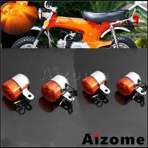 Image 1 - Motorcycle Amber Turn Signal Lamp For Honda Little P25 P50 Z50 Z50A K1/K2 ST50 ST70 CT70 K3 12V 10W Bulb Blinker Indicator Light