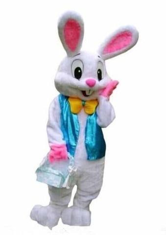 coelho da pascoa traje da mascote ternos coelho cosplay fantasia vestido roupa adultos tamanho do