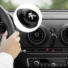 Gancho organizador de accesorios para coche, colgador de almacenamiento de llaves de auriculares, Cable USB, para Peugeot 307, peugeot 206, 308, 207, 406, 407, 408
