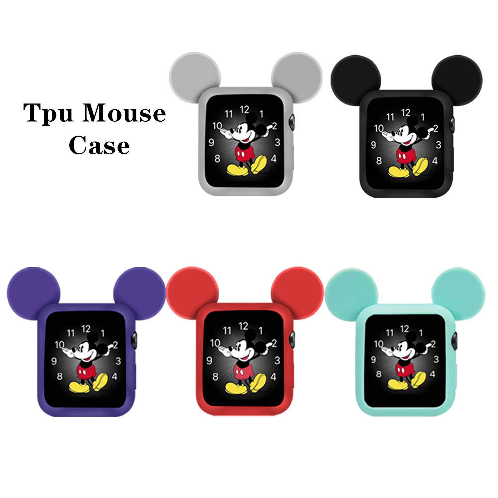 Watch-Cover-Case Tpu-Cases Series-Accessories Apple Watch Mouse-Protect 40MM for 6-5/4/3-2