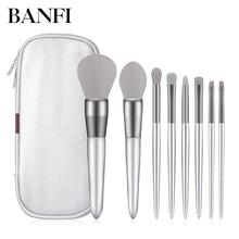 8PCs/set Professional Makeup Brushes Set Powder Foundation E