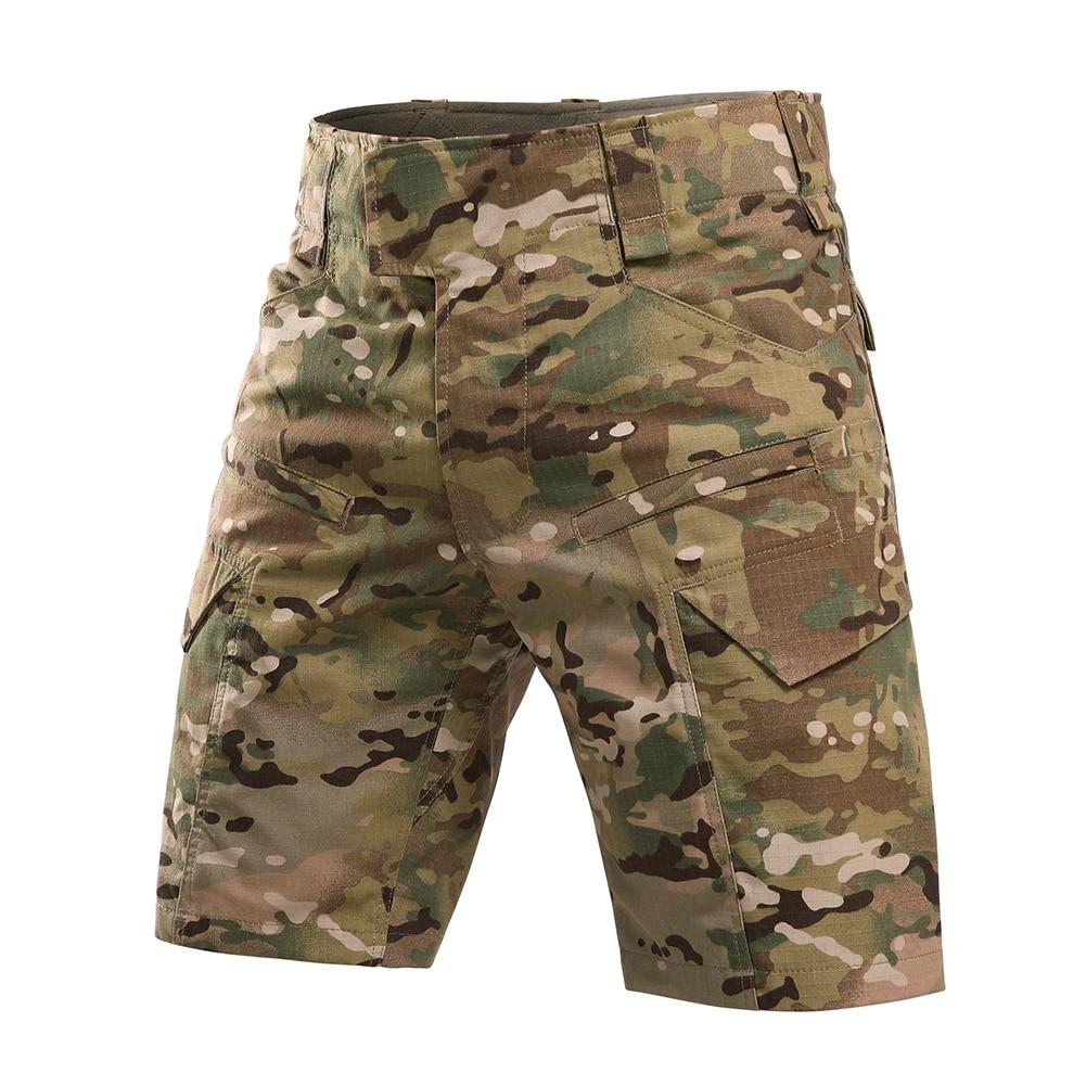 Black Ripstop Cargo Pants