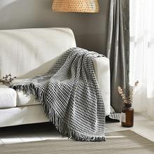 цена на Tassels Wool Sofa Knitting Towels baby feeding cushion sleep cot wrap items blanket swaddling kid boy girl crib sheets swaddle