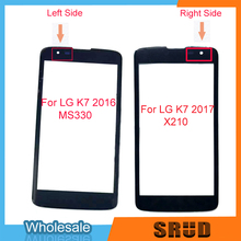 5.0'' LCD Display Front Outer Glass Touch screen For LG K7 X210 X210DS MS330 LS675 Touch screen Pane