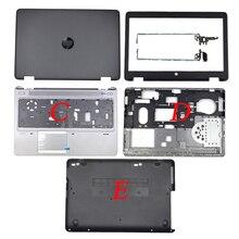 Original New For HP Probook 650 G2 655 G2 LCD Back Cover/Front Bezel/LCD Hinges/Palmrest/Bottom Case Cover 840724-001 840726-001