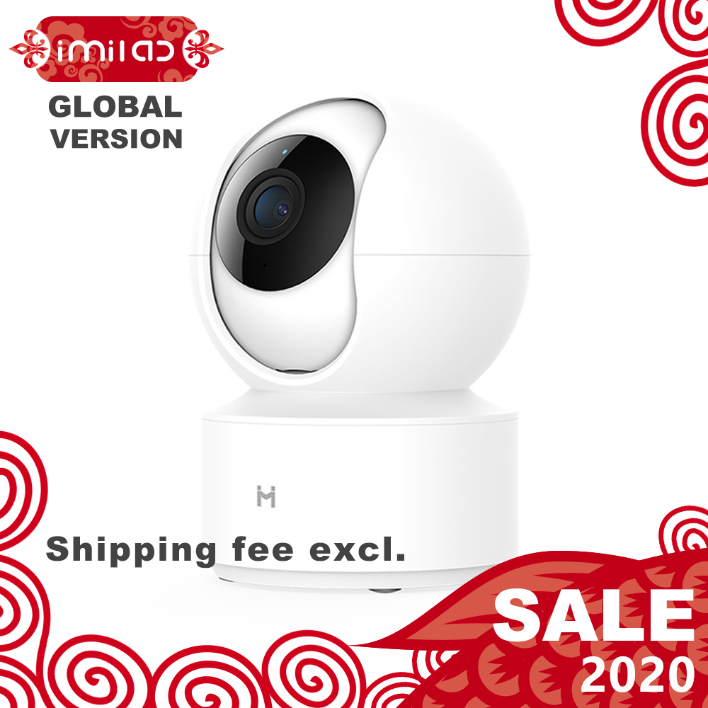 【Global Version】Mijia IMILAB IP Camera, Xiaomi Mi Home App WiFi Security CCTV Camera HD 1080P Surveillance Baby Monitor H.265