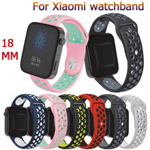 18mm Sports fashion soft Silicone Strap For Xiaomi new classic Smart Watch watch band Bracelet Wristband Replacement Accessories premium new soft silicone watch band for amazfit t rex smart watch bracelet replacement wristband adjustable sports watch strap