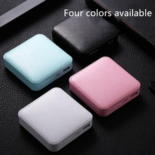 Mini Power Bank 10000mAh for All Phone Light Weight Portable Cell Charger Accessories