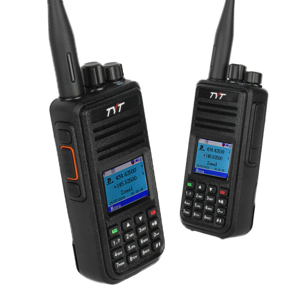 Image 2 - TYT DMR Digital Mobile Radio TYT MD 380 Tytera Walkie Talkie 1000 Channel Professional Two Way Radio UHF 400 480MHz-in Walkie Talkie from Cellphones & Telecommunications